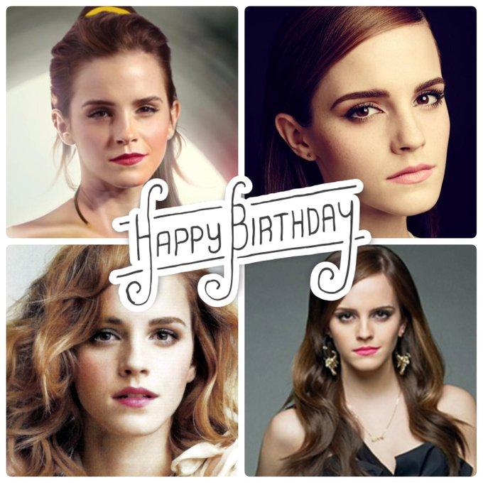 Happy Birthday to star, Emma Watson.