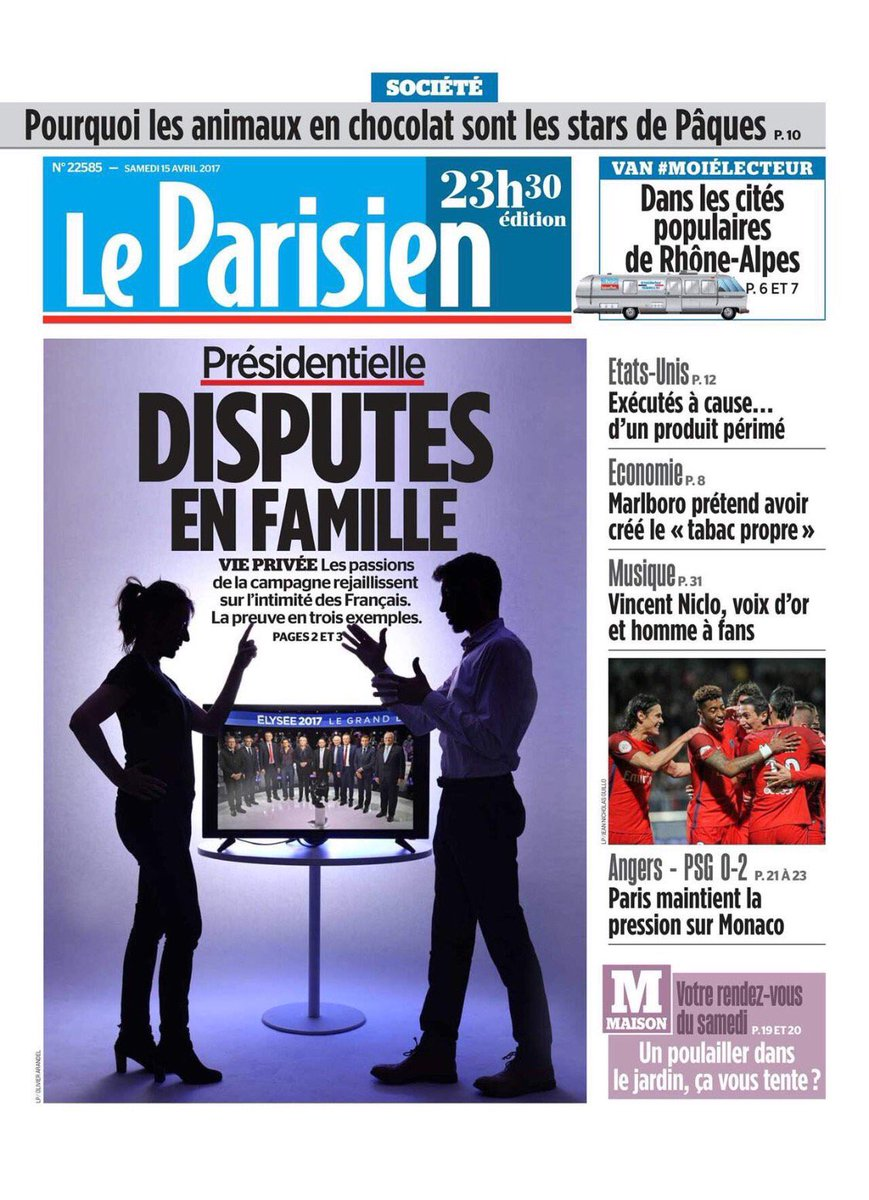 Aujourd'hui en kiosque retrouvez @vincentniclo dans le journal #LeParisien ! pic.twitter.com/GVHTBfU3PL