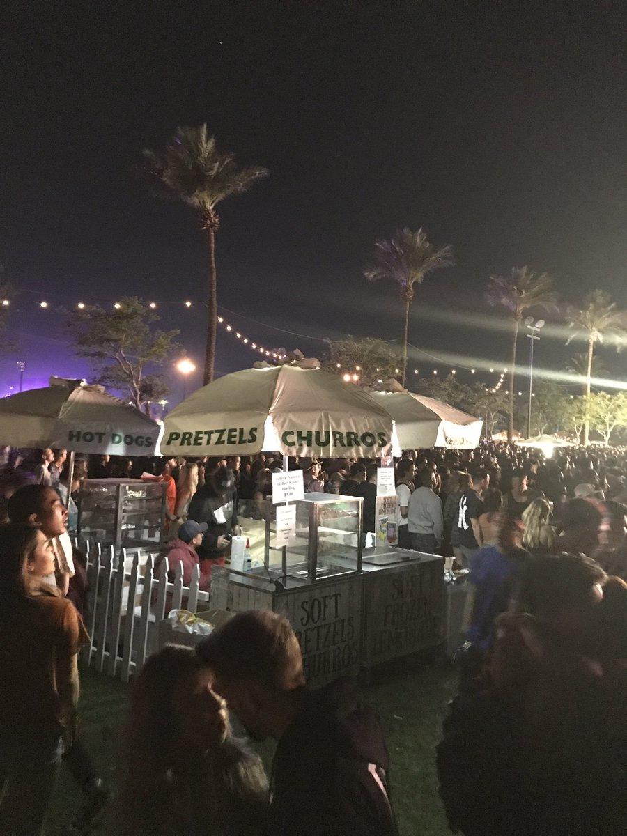 Travis Scott Front of House #Coachella2017 #travisscott