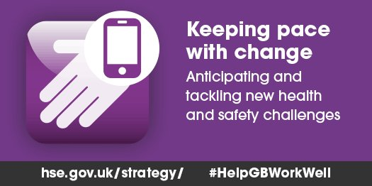HSE has been out and about discussing the future of h&s with businesses. What successes can you share that can #HelpGBWorkWell