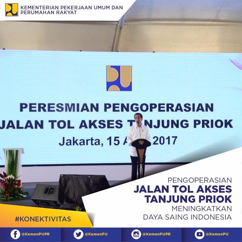 Jokowi Lega, Tol Akses Priok Akhirnya Rampung Setelah 9 Tahun