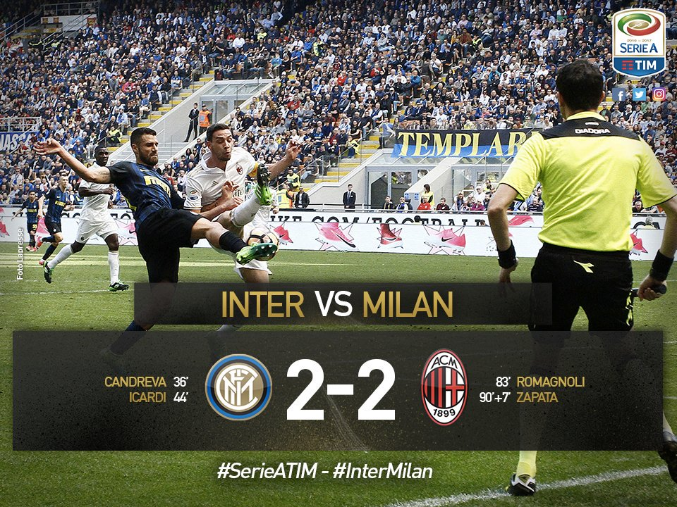 Inter-Milan 2-2 YouTube Highlights