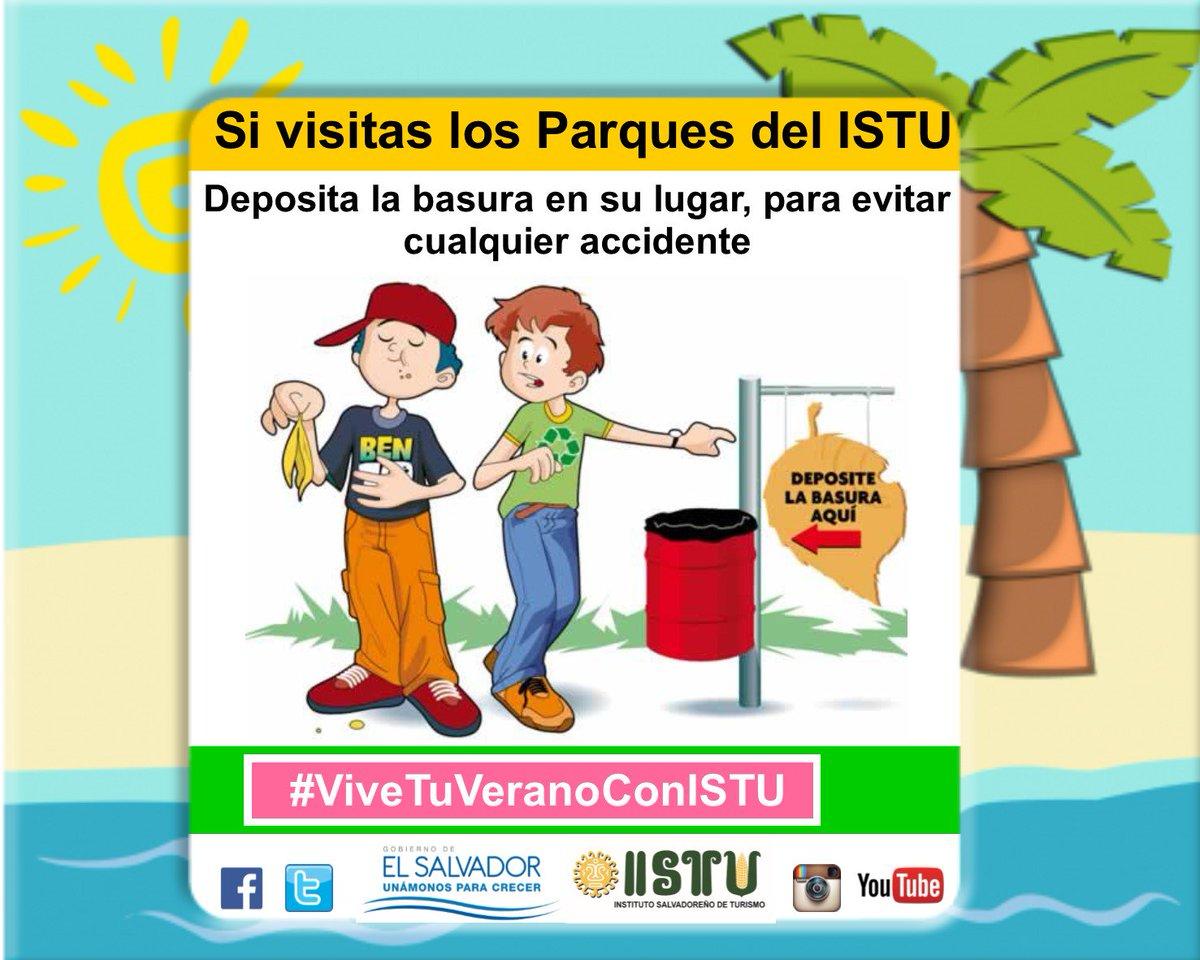 "ISTU On Twitter: ""Recuerda, Si Visitas Los Parques"
