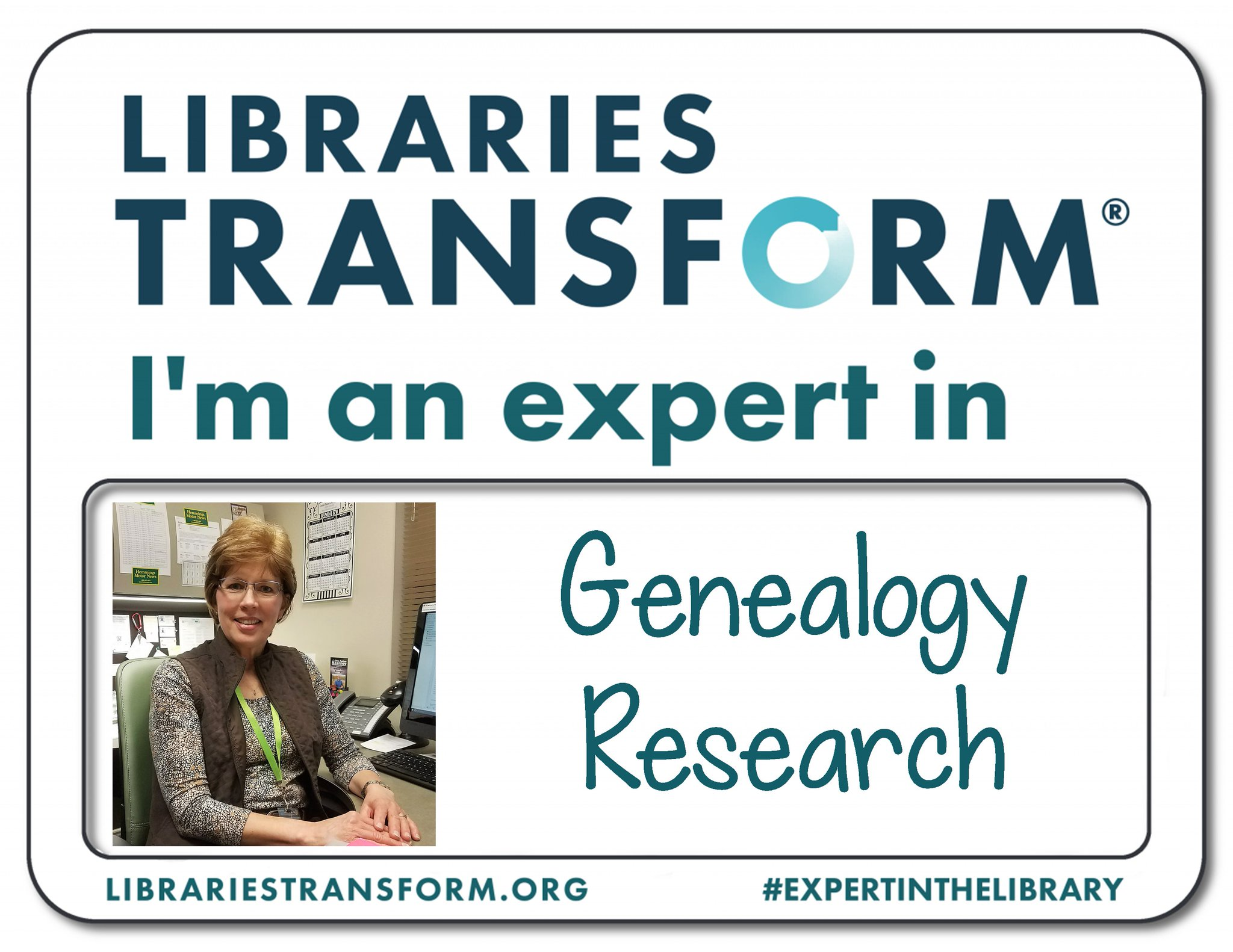 Celebrate #NationalLibraryWeek with us! Meet Rita, an #ExpertInTheLibrary at KPL. https://t.co/CQ5b3kqGh2