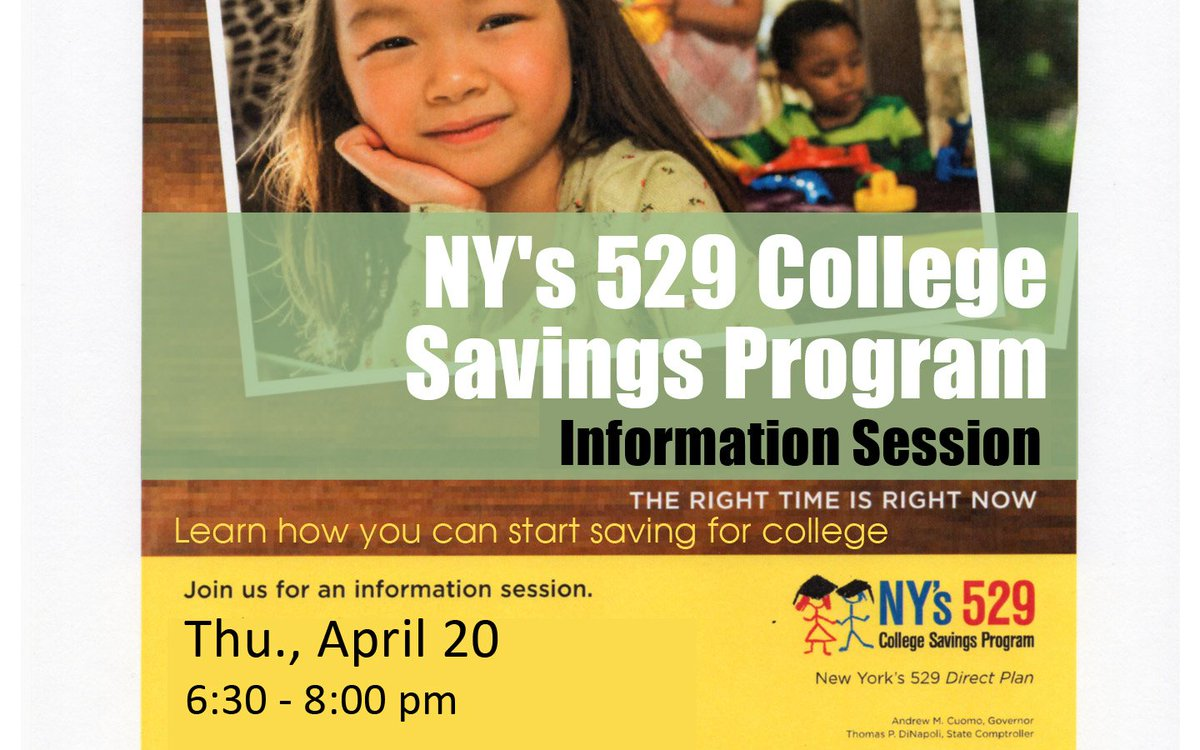 529 college savings plan direct - Voorheesvillelibrary On Twitter April 20 6 30 Dannah Pettit Rep For Ny 529 College Savings Program Direct Plan Will Present Answer Questions
