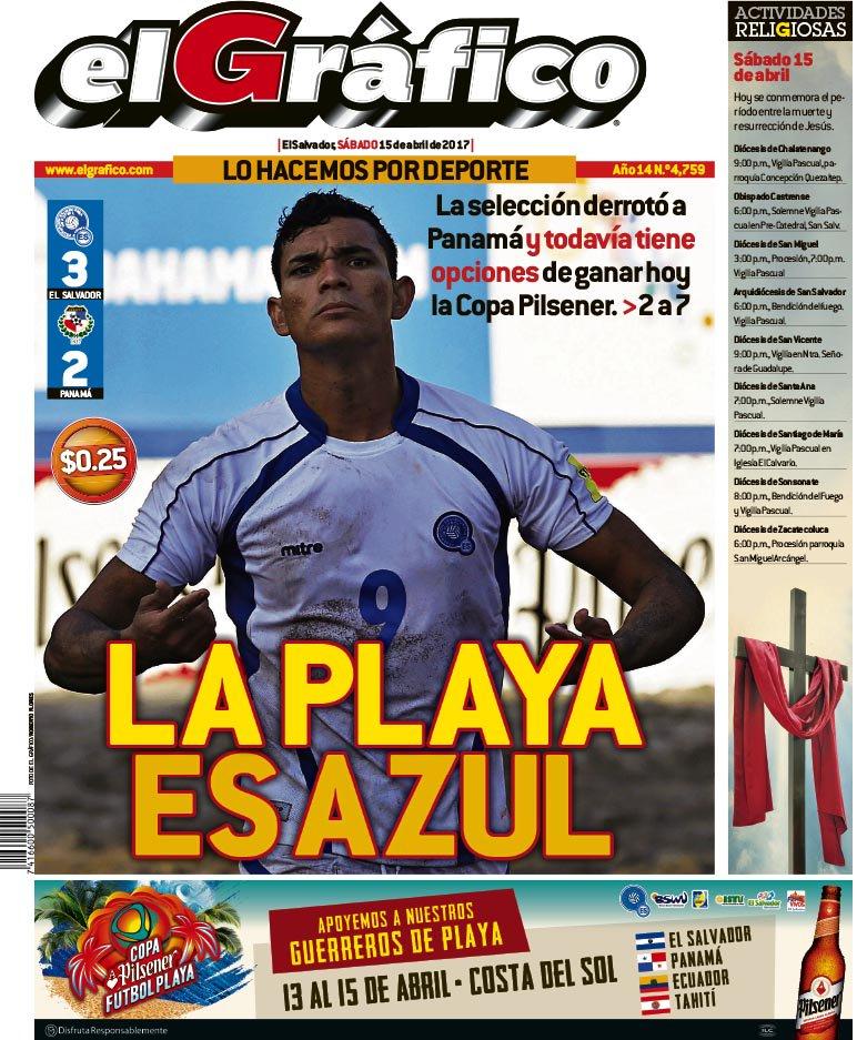 Copa Pilsener 2017: El Salvador 3 Panama 2. C9deIANXoAIKYcI