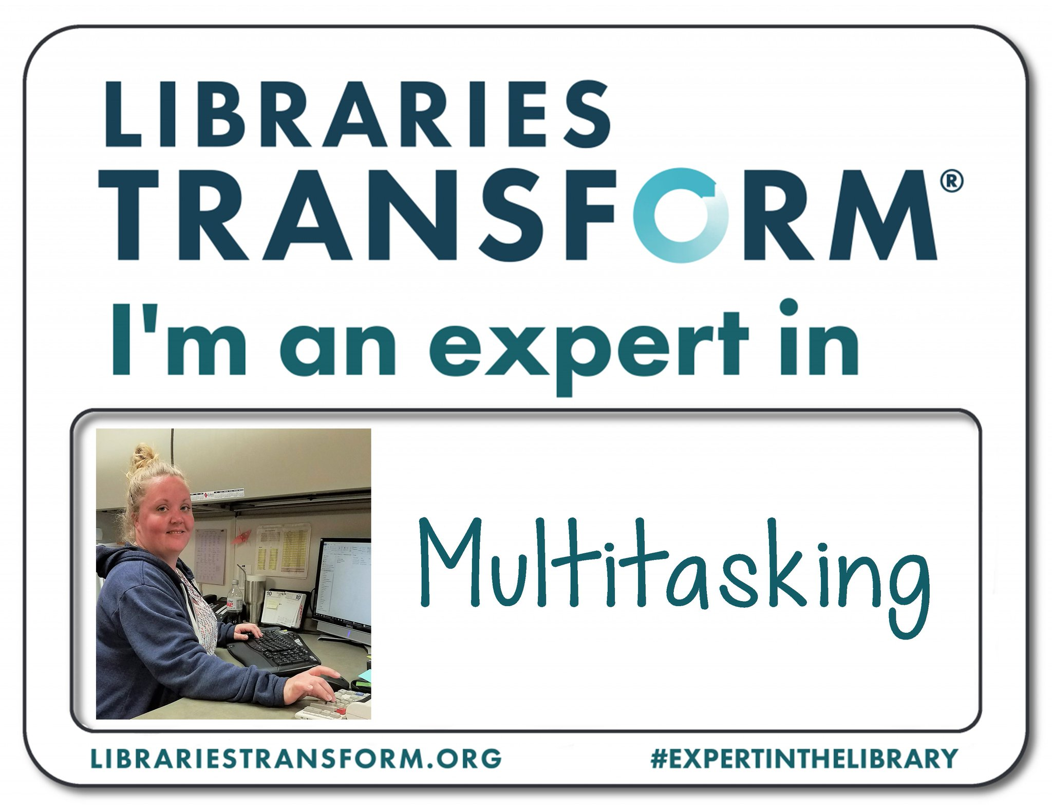 Celebrate #NationalLibraryWeek with us! Meet Stephanie, an #ExpertInTheLibrary at KPL. https://t.co/2pnJV0zZ2j