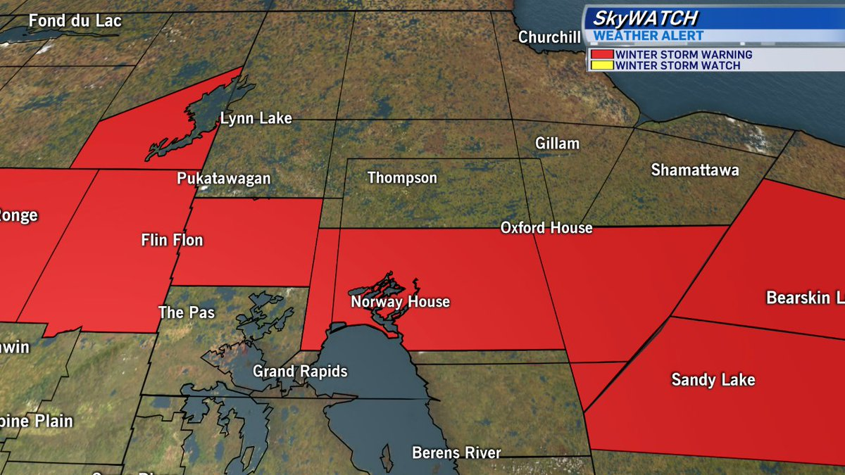 CTV Skywatch Weather Alert: A Winter Storm Watch or Warning is in effe...