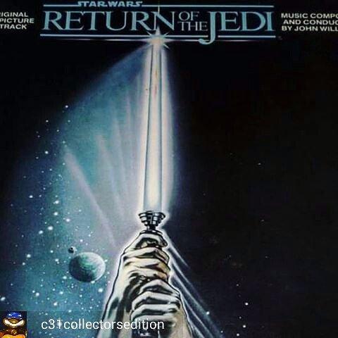 Return Of The Jedi - #JohnWilliams  #vinyl #record #ost #bso #disco #vinil #vintage #nostalgia #collection #StarWa…  http:// ift.tt/2pnA1od  &nbsp;  <br>http://pic.twitter.com/7Td1IHhcWF