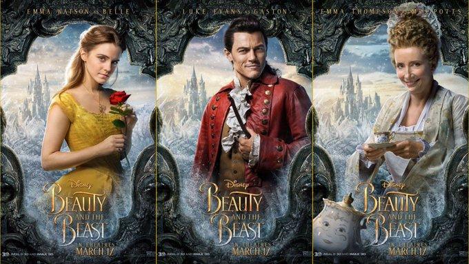 Happy birthday to stars Emma Watson, Luke Evans, and Emma Thompson!