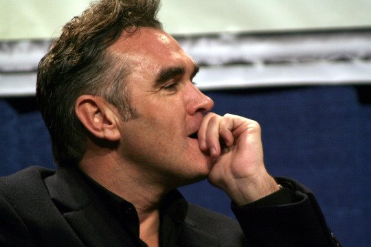 Image result for morrissey head in hands