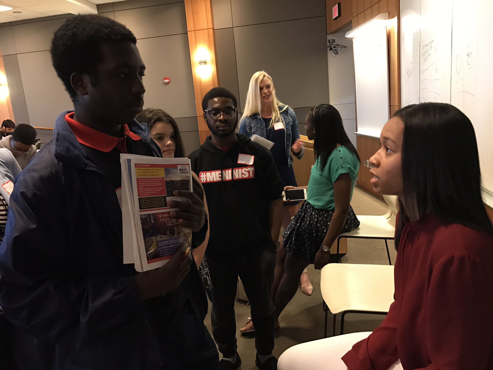 .@InstantRHIplay talks to an attendee at the #PovichWorkshop17 https://t.co/3iw0tqt93w