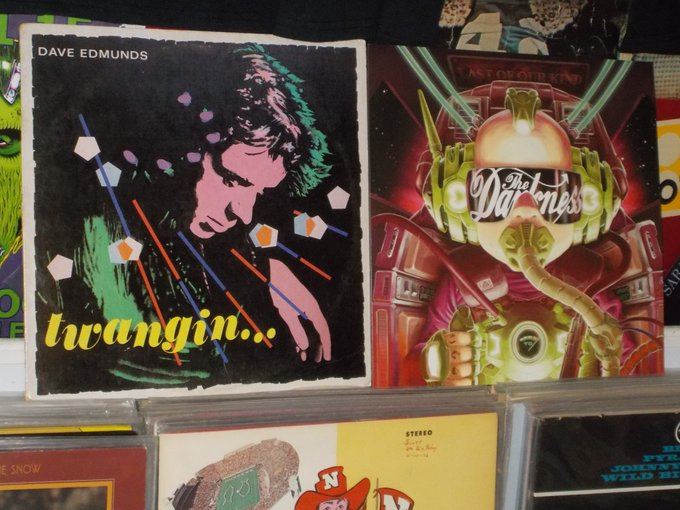 Happy Birthday to Dave Edmunds & Frankie Poullain of the Darkness
