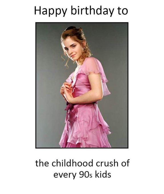 happy birthday Emma Watson   from ur
