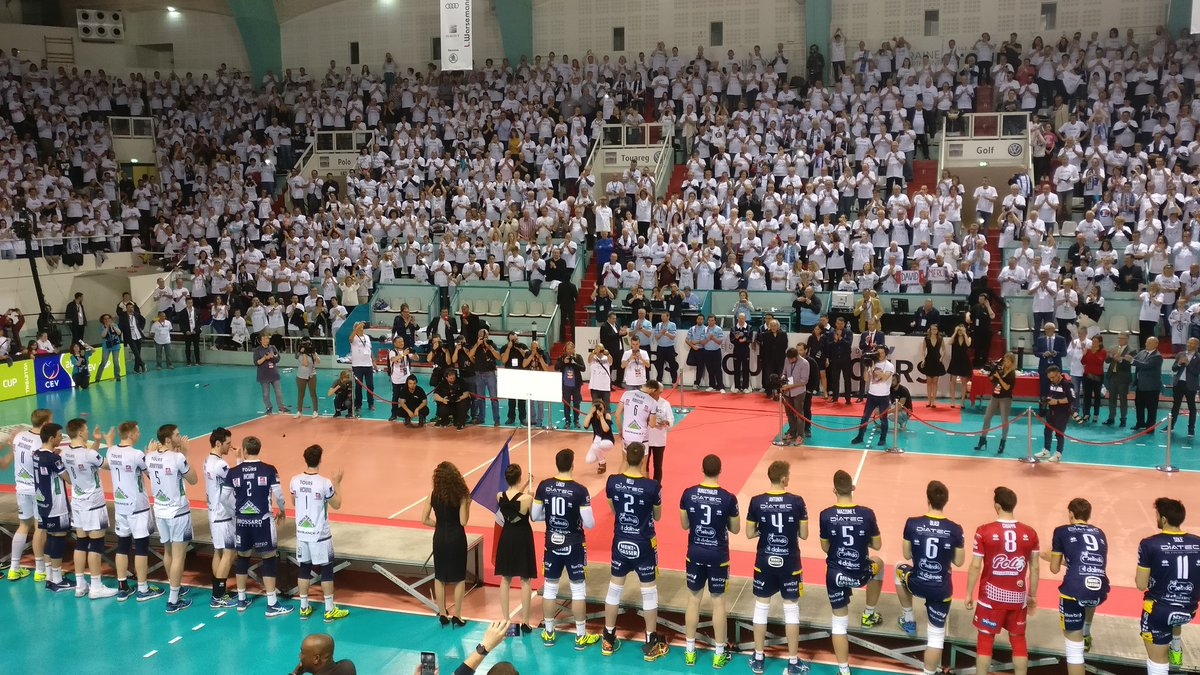 MVP officiel the match: David Konecni #Tours Volley #CEVCupM <br>http://pic.twitter.com/1sU1cYTtnb