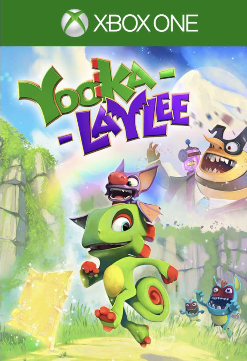 Giving away 2 free codes for Yooka-Laylee on #XboxOne from @PlaytonicGames RT to win! https://t.co/yUICq8i7ZK https://t.co/8KXgZLcOQn