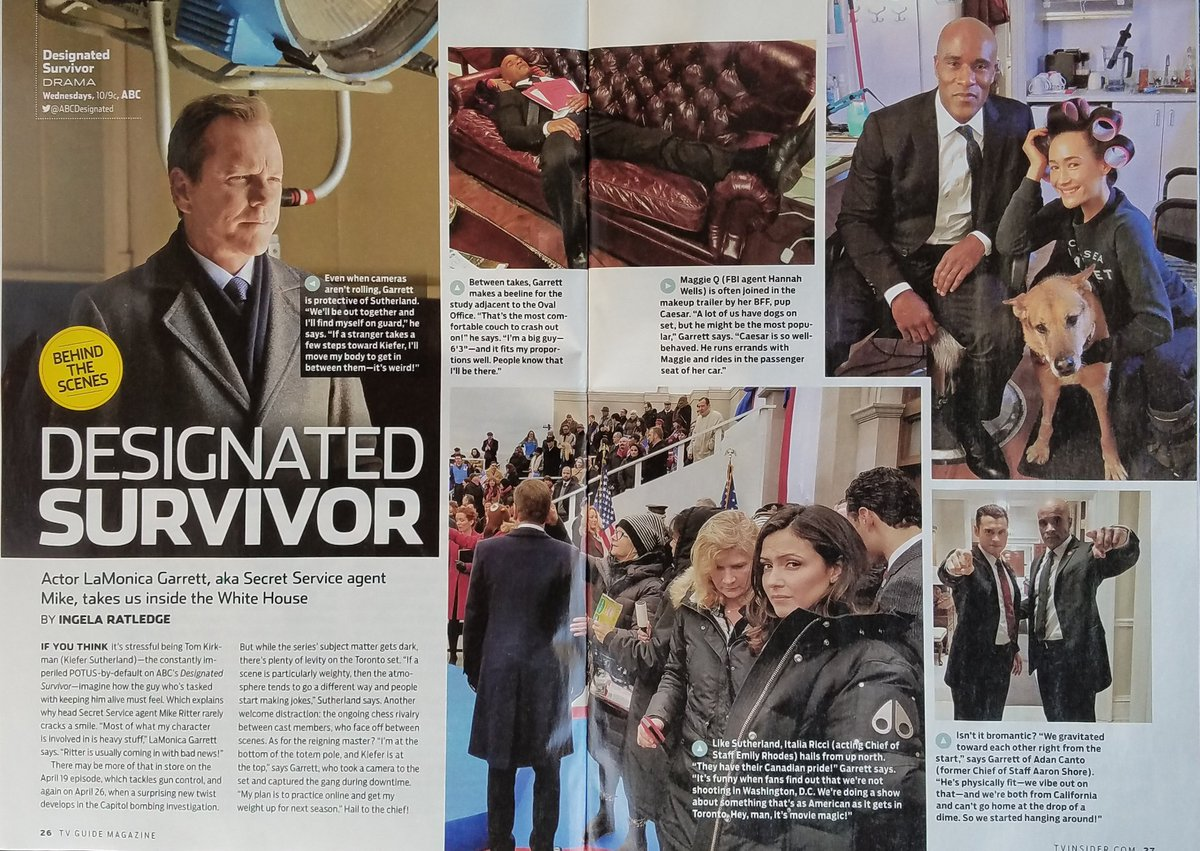 Pick up the new @TVGuide for a #bts look w/ me and my @ABCDesignated family