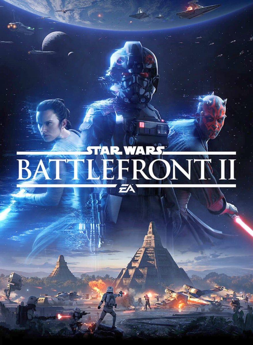Star Wars Battlefront II Box Art