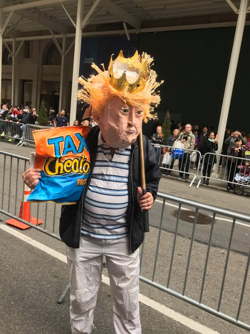 This NYC march has some great characters.