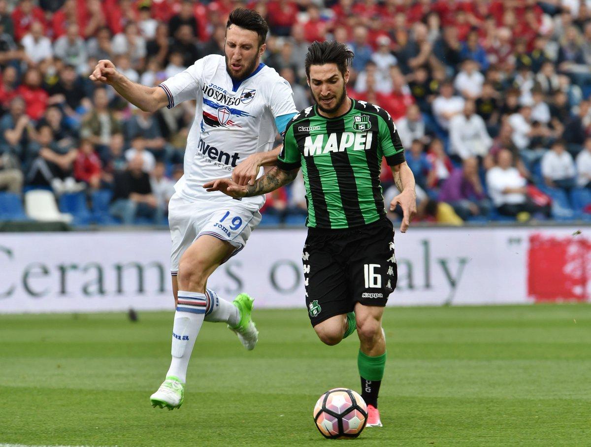 Video: Sassuolo vs Sampdoria