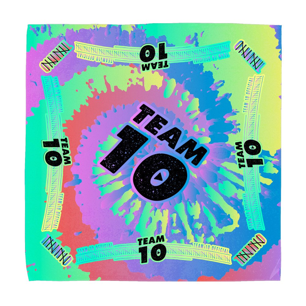 """Team 10 on Twitter: """"Fam, check out these Team 10 bandanas our friends at @FanjoyCo made! 🔥🔥🔥 https://t.co/ODW8Skb4OE https://t.co/3zAHS2QsoY"""""""