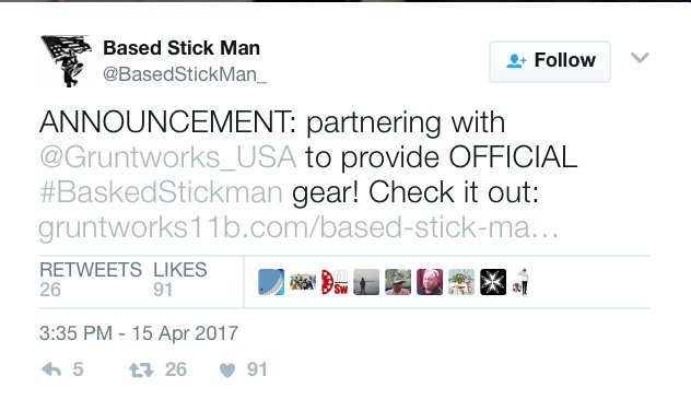 """And here is """"Based Stick Man"""", trying to profit off of this type of violence.  https://t.co/c8pkqeedCS https://t.co/mtjqw2q5me"""