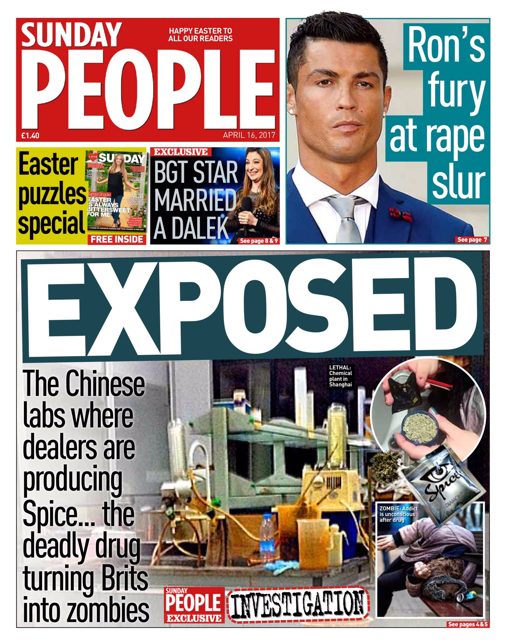 RT @hendopolis: PEOPLE: Exposed #tomorrowspaperstoday #spice https://t.co/W8PHKbe454