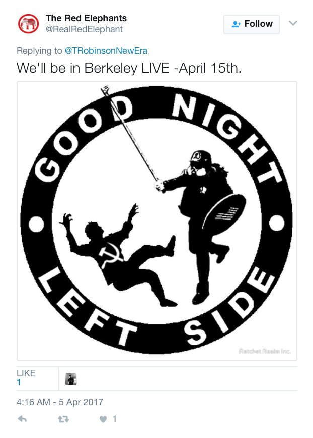 "Well, well, well... look who was already planning to be ""live"" in Berkeley today... 10 days ago. https://t.co/uQzVMBfJUq"