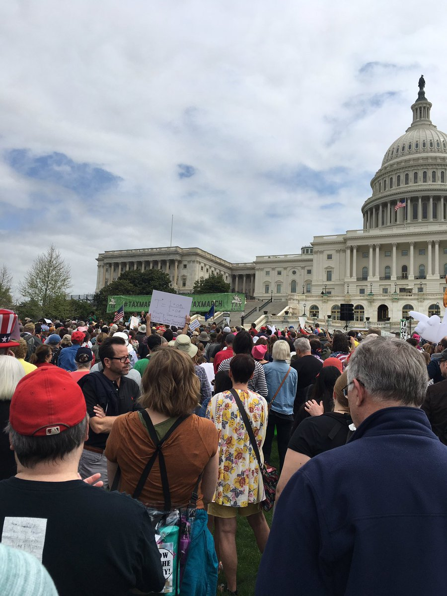 What Are You Hiding? Tens of thousands in #TaxMarch rallies across the US demand Trump release his tax returns
