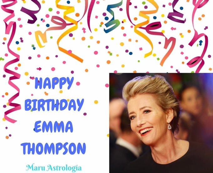 HAPPY BIRTHDAY EMMA THOMPSON!!!