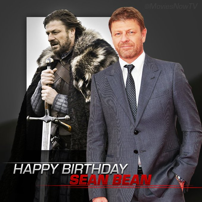 Happy Birthday, Sean Bean! Sometimes all you need is a big leap of faith.