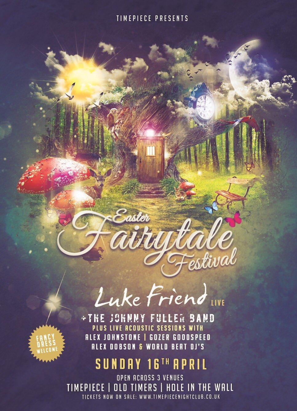 EASTER FAIRYTALE FESTIVAL 🐣🌈 TONIGHT! - 18+ TimePiece, Exeter   1 hour acoustic set   12 til 1am 🙌🏼  L x 💋 https://t.co/UUHEHNNLex