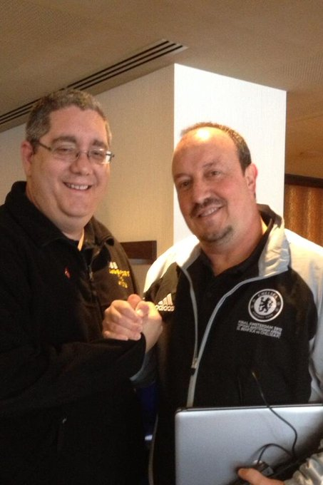 Happy birthday to Newcastle manager Rafael Benitez, have a great day my friend