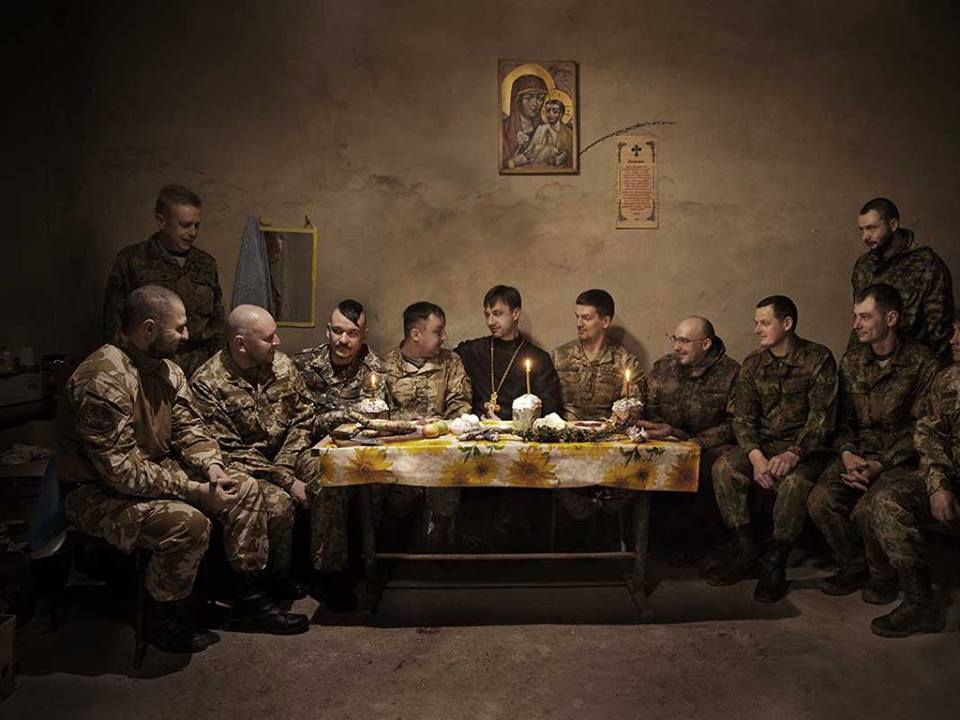 На всенощной службе в Севастополе читали Евангелие на украинском языке - Цензор.НЕТ 1359