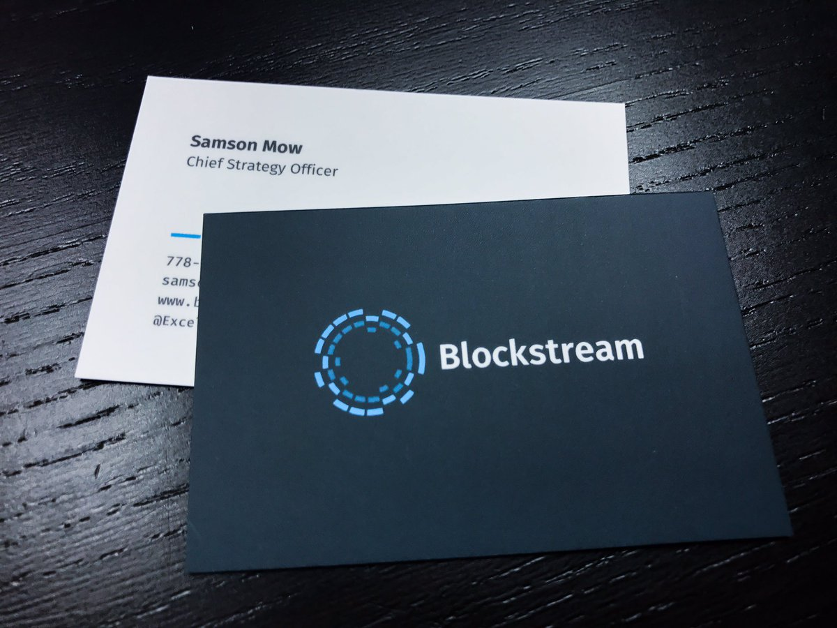 Samson mow on twitter new blockstream business cards have samson mow on twitter new blockstream business cards have arrived bitcoin blockchain httpstuncntq3vsm magicingreecefo Image collections