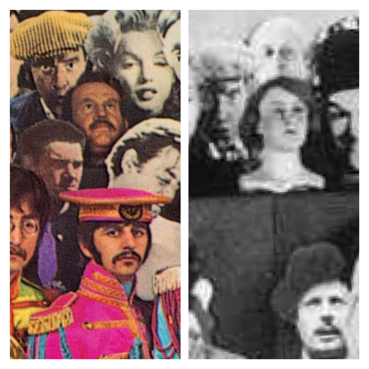 Beatles Sgt. Pepper lemezborító