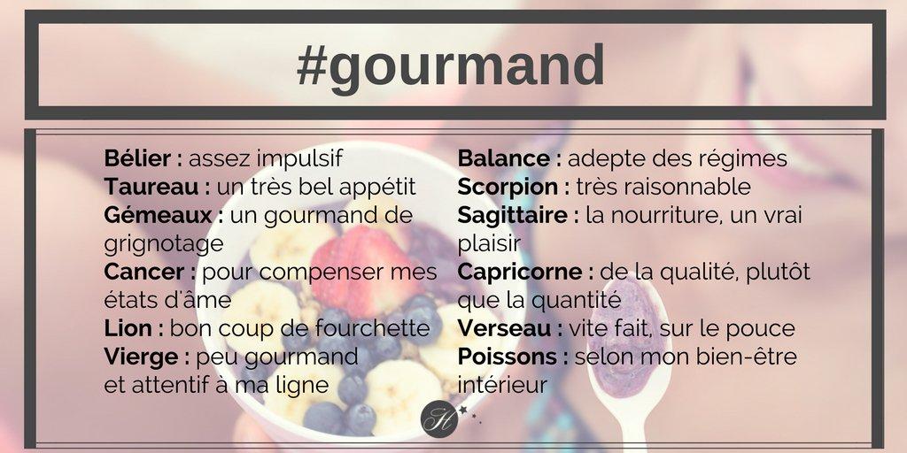 Gourmand ou pas ? #belier #taureau #gemeaux #cancer #lion #vierge #balance #scorpion #sagittaire #capricorne #verseau #poissons #Pâques<br>http://pic.twitter.com/Hlaou7PpL1