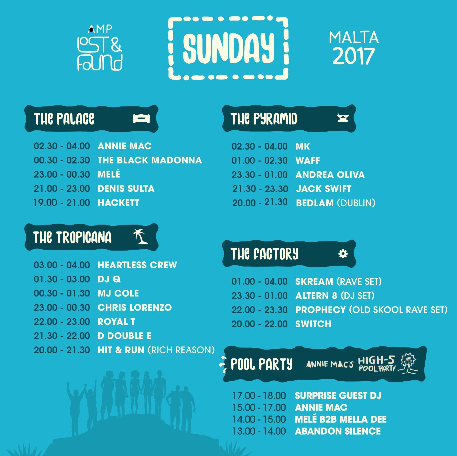Set times for the FINAL day of AMP Lost & Found 2017 🌅🌴🎉 #AMPLostandFound https://t.co/BqhZ5agITC