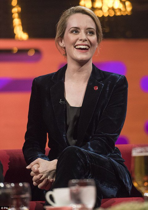 A very Happy Birthday to the Queen (pun intended) that is Claire Foy!
