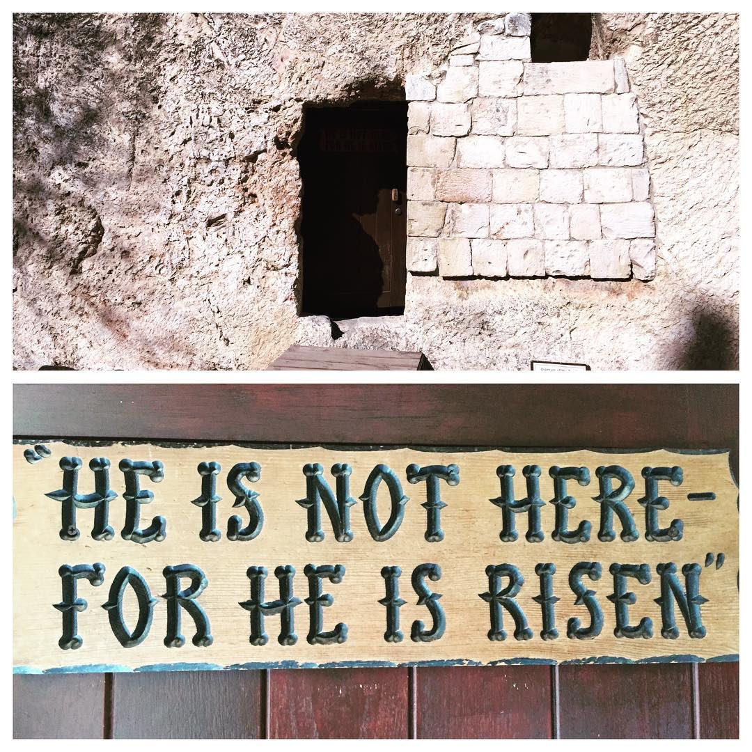 The tomb is empty. He is risen! #HappyEaster https://t.co/BToNkOZZaT