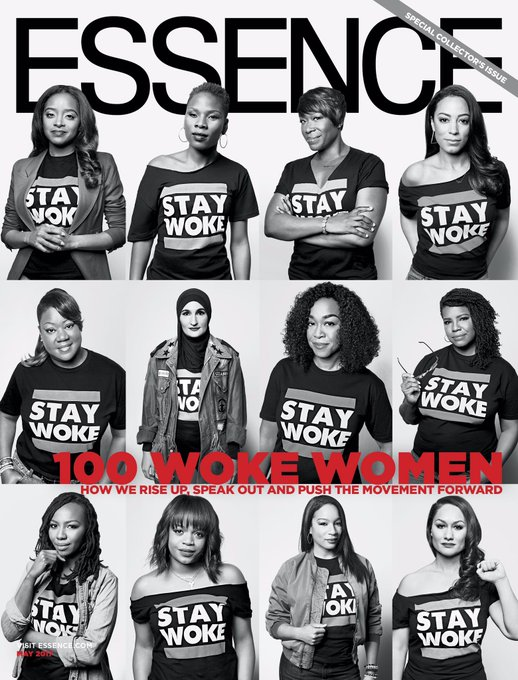 Woke Cover Alert! In our May issue, we're launching our first-ever #Woke100 list. Available on newsstands 4/21: https://t.co/qP6Ynqoo8e