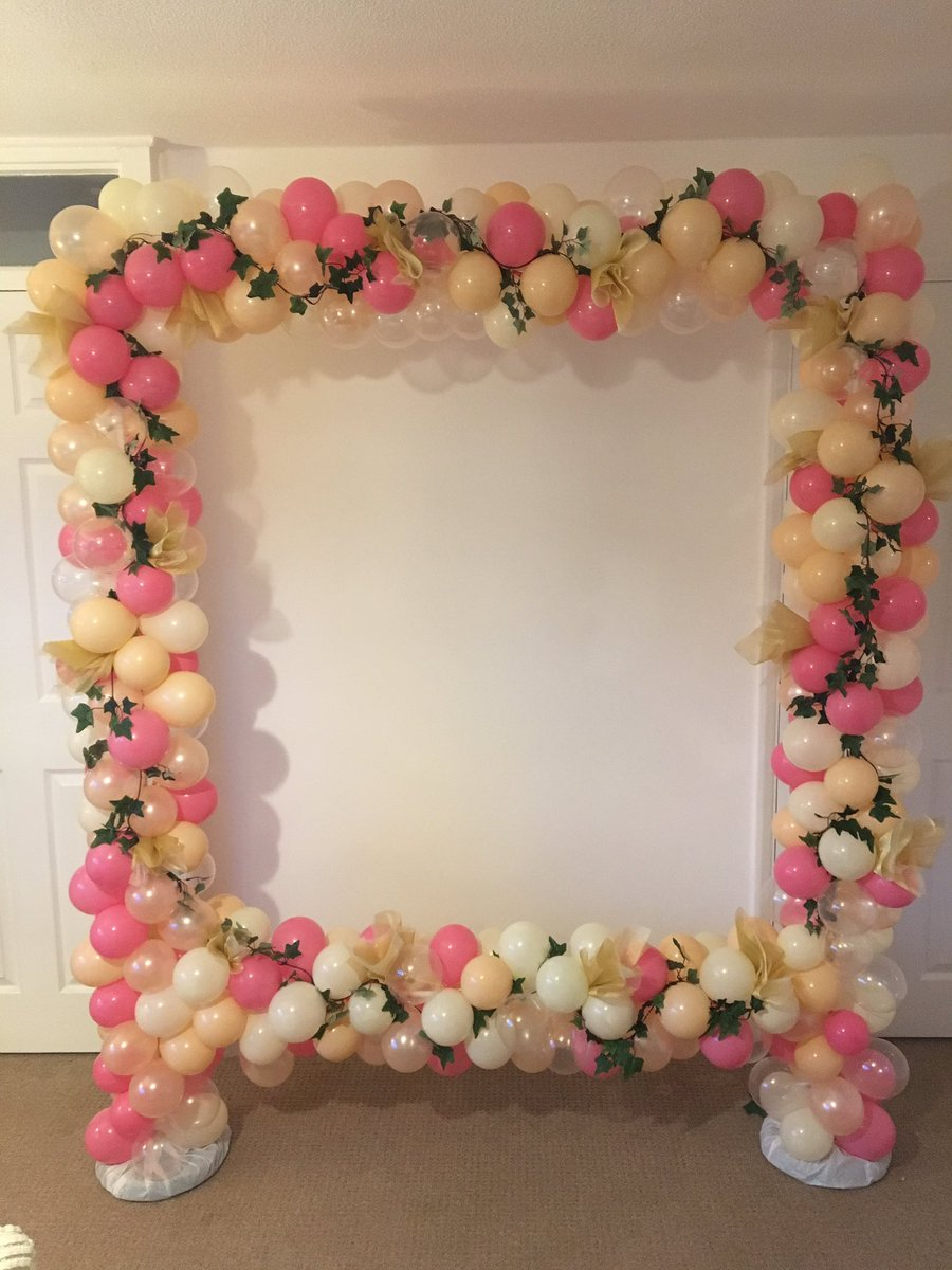 Balloons 2 U On Twitter Win Giant Balloon Frame Worth 250 Retweet Follow Comment When Where Your Party Is Drawn 300617 Competition Free Wedding