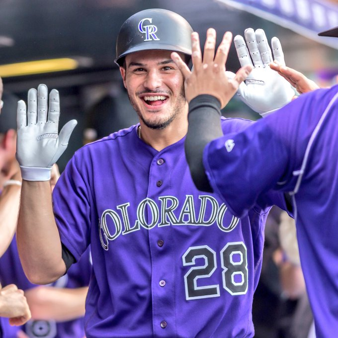 HAPPY BIRTHDAY to the one and only Nolan Arenado!   Nolan is *just* 26 today.