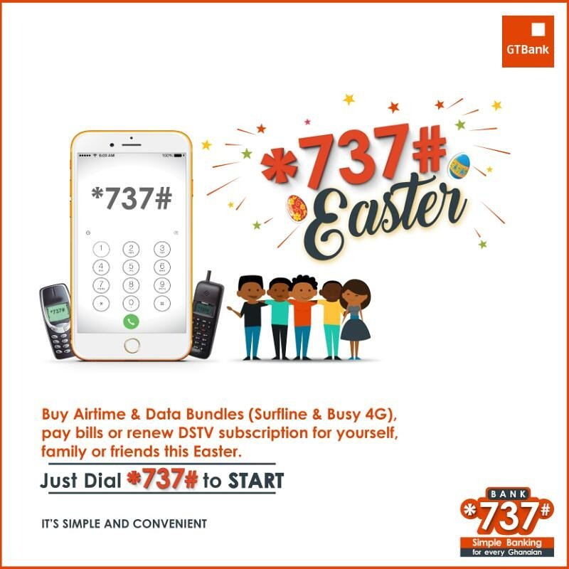 How to pay dstv with gtb 737