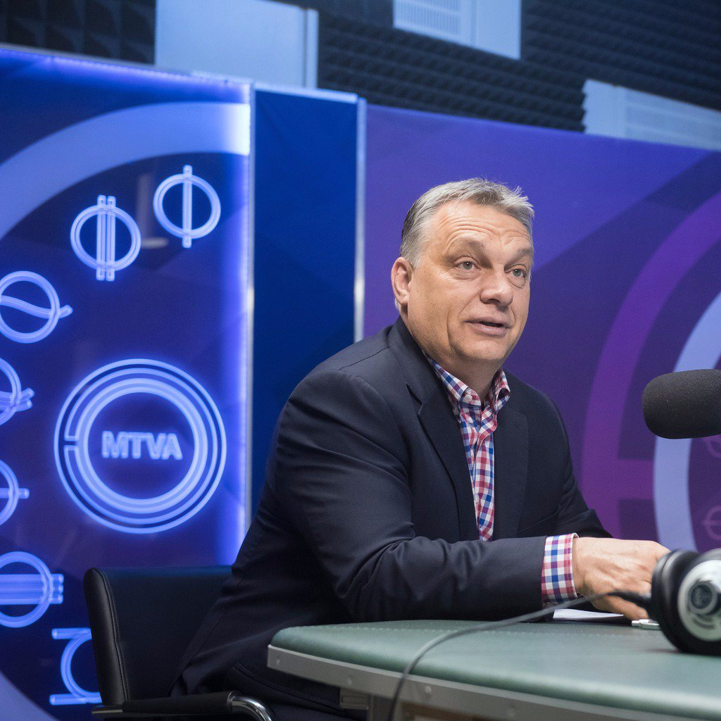 Orbán: CEU protests are only secondary battlefields, the crucial battle is about mass immigration and Europe's future