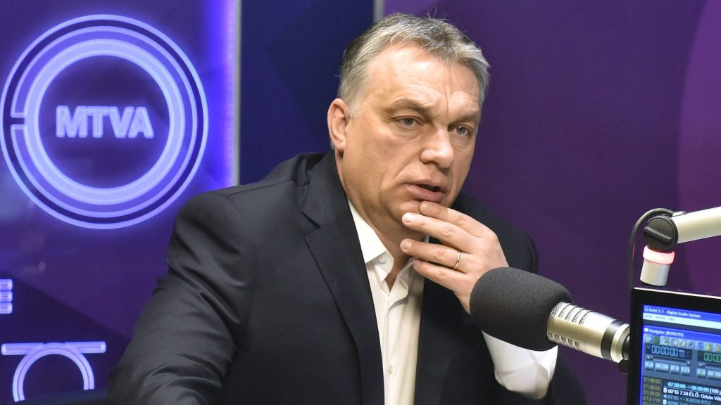 Orbán: NGOs want a Europe with partial replacement of the population, they'd even accept the risk of terror