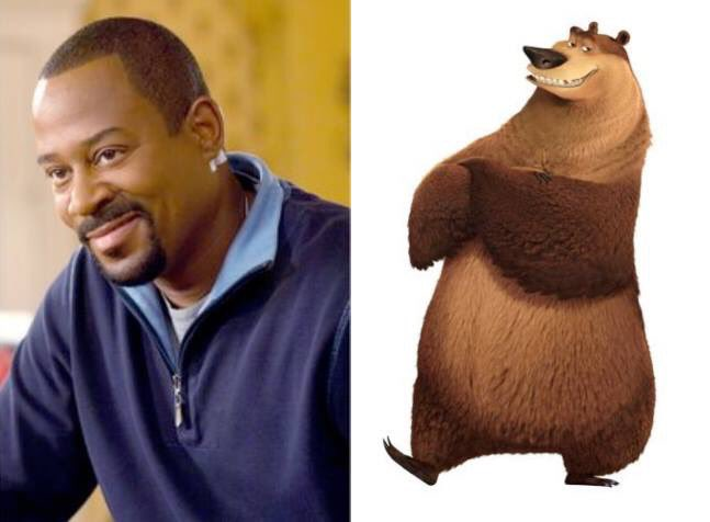 Happy 52nd Birthday to Martin Lawrence! The voice of Boog in Open Season.