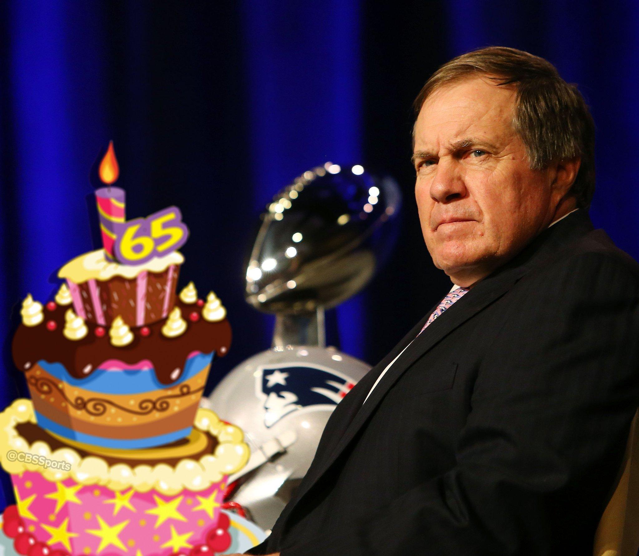 Happy 65th Birthday to Bill Belichick.
