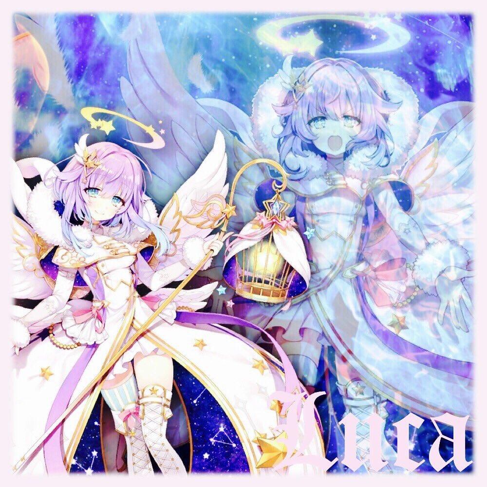 輝桜 かぐさ Twitterren 夜桜の白猫画像加工 第34弾 ルカとレイン