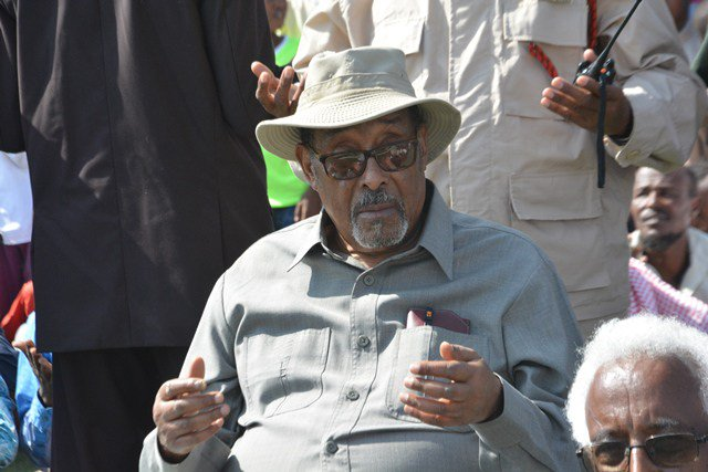 The President @Somaliland joined congregation praying for rainfall at #Hargeisa stadium bit.do/1dii